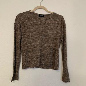 John Galt brown sweater